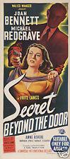 Secret beyond the door Joan Bennnett movie poster print