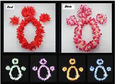 Hula Lei 4pc Costume set Hawaiian Dance Necklace
