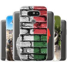 dessana Madagaskar TPU Silikon Schutz Hülle Case Handy Tasche Cover für LG