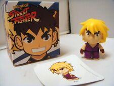 $7 Kidrobot Street Fighter Series 2 Ken Purple mini 3 inch figure
