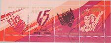 Albanien Albania 1989 klb 2419-22 F I MS 2331 45th liberation Ann oro missing