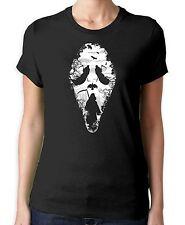 Grim Reaper Scream Women's T-Shirt - Halloween Goth Horror Movie