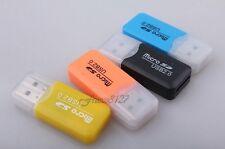 LETTORE MICRO SD MICRO SDHC USB PENDRIVE TRANSFLASH ADATTATORE MEMORIA CARD READ