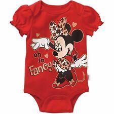 Minnie Mouse Baby Girls Oh So Fancy Bodysuit