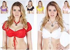 TRACHTENKAISER® Carmenbluse EVA Dirndlbluse Trachtenbluse Trachtenkette Bluse