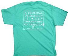 Caribbean Hobo Tropical Depression Tequila t-shirt Key west island mexico drinks