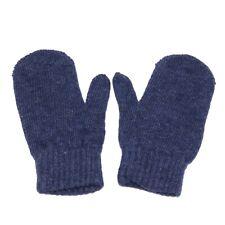9339Y guanti bimbo boy IL GUFO wool blue gloves