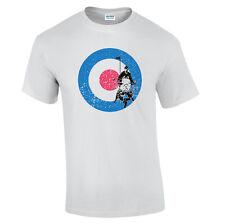 Objetivo Mod Camiseta Años 60 Diseño Brighton 1964 Distressed mod 3XL 4XL 5XL