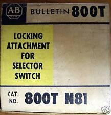 ALLEN BRADLEY 800T-N81 Locking Attachment *NIB*