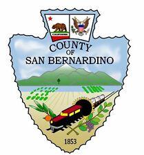 Seal of County of San Bernardino Sticker / Decal R739
