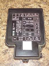 92-95 OEM USDM Honda Civic SR3 EG EG6 EG9 EJ1 engine bay fuse box lid cover