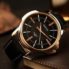 Rose Gold Wrist Watch Men  Top  Luxury Famous  Clock Quartz Watch Golden Wris...