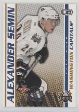 2003-04 Pacific Heads Up #136 Alexander Semin Calgary Flames Washington Capitals