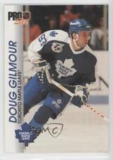1992-93 Pro Set #184 Doug Gilmour Toronto Maple Leafs Hockey Card