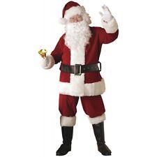 Santa Suit Adult Christmas Costume Fancy Dress