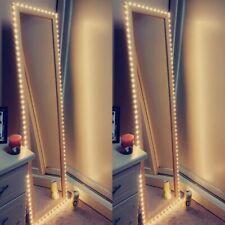 USB LED Flexible Tape Back-light 5V USB Cable Powered Makeup Mirror TV Wardrobe