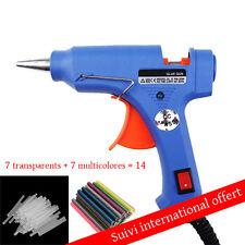 Pistolet électrique à colle 20W Thermofusible ou lot de colle vendu seul