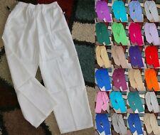 Bless U Elastic Waist Classic 2 pocket Scrub Pant Sz 2X to 5X