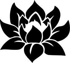Lotus Flower Namaste Vinyl Decal Sticker U Pick Size + Color