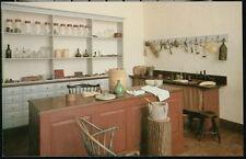 WINSTON SALEM NC Old Salem Benjamin Vierling's Home Apothecary Vintage Postcard