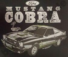 T-shirt #741 Mustang Cobra v8 Hotrod Old School Musclecar dragracing EE. UU.