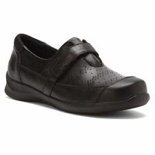 Apex A700 Regina Women's Black Slip On Shoe