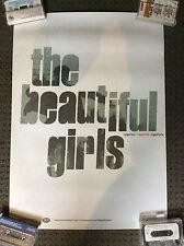 THE BEAUTIFUL GIRLS POSTER Ziggurats Album Promotional Australian VINTAGE RARE