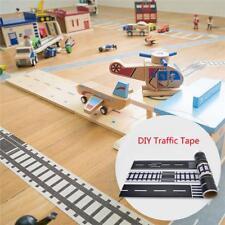 Kids Removable Paper Railway Road Tape Toys Floor Sticker DIY Indoor Decor AL