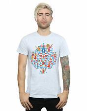 Disney hombre Coco Tree Pattern Camiseta