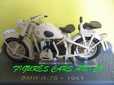 MOTO CLASSIQUE 1/24 BMW R 75 1941  MOTORCYCLE  MOTORRAD