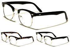 New Nerd Fashion Clear Classic Style Unisex Glasses (NO PRESCRIPTION) NERD027