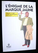 Affiche JACOBS   Blake et Mortimer Renault  68x98