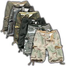 SURPLUS VINTAGE Pantalones Cortos Tipo Carga Fatigues Shorts Culto Streetfashion