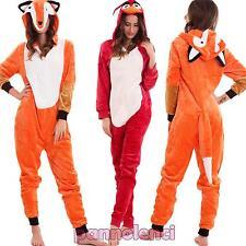 Pigiama donna kigurumi animali ecopelliccia cosplay volpe cappuccio nuovo B1658
