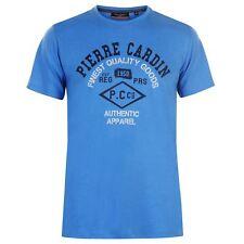 Pierre Cardin Hombre Marl Camiseta Cuello Redondo