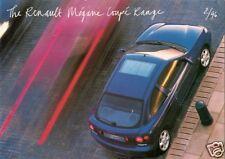 Renault Megane Coupe 1996-98 UK Market Sales Brochure 1.6e 2.0 16v