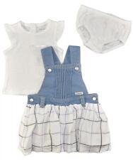 Calvin Klein Baby Girls 2-Pc White Top & Dress Set w/Panty 3/6M 6/9M 12M 18M 24M