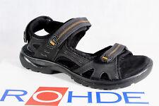 Rohde Femmes Sandale Sandales Sandales Largeur G Noir Neuf!!!