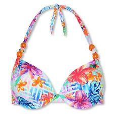 CYELL Neckholder Bügel Bikini Top Fiji Floral 36/S 38/M 40/L 42/XL Cup A B C