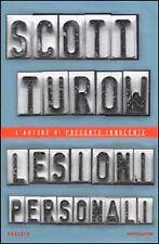 Scott Turow - LESIONI PERSONALI - Mondadori Omnibus