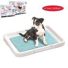 Puppy Trainer, Senioren Welpen WC, Welpentoilette, Hunde Klo inkl. 10 dog pads