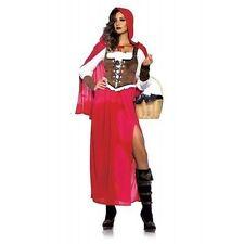 Leg Avenue Woodland Red Riding Hood Wolf Fairy Tale Halloween Costume 85376