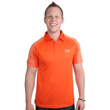 Storm Focus Polo Mens Bowling Shirt ORANGE