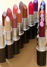Mac Lipstick Frost Matte Metallic Brand New in Box Choose Shade 100% Authentic
