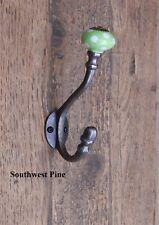 Antique Vintage Style Cast Iron Coat Hooks -Choice Of Design & Size x 1 Hook