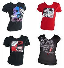 Emily The Strange maglietta GIRL!!! solo pochi!!! GOTHIK PUNK Rockabella NUOVO!