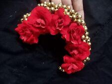 Christmas Celebration With New Hair Accessory/ Imitation of Original Flowers
