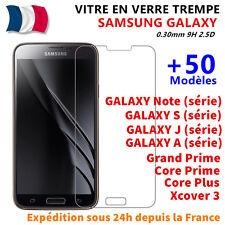 Vitre Film Protection Verre Trempé Samsung S5/S6/A3/A5/A6/A7 J3/J5/J4 Plus/J6