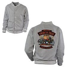4260 College Biker Jacket Custom Vintage Harley theme Motorcycle Classic car