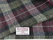Harris Tweed Fabric & labels 100% wool Craft Material - various Sizes code.au01